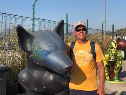 Art at the port in Ensenada