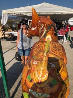 More port art in Ensenada