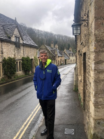 Rainy day in the Cotswolds
